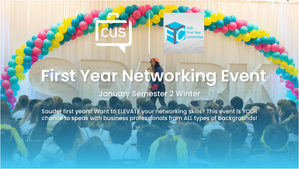 First year Networking Night
