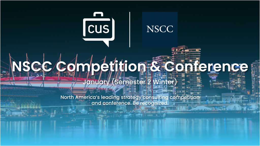 NSCC Competition & Conference
