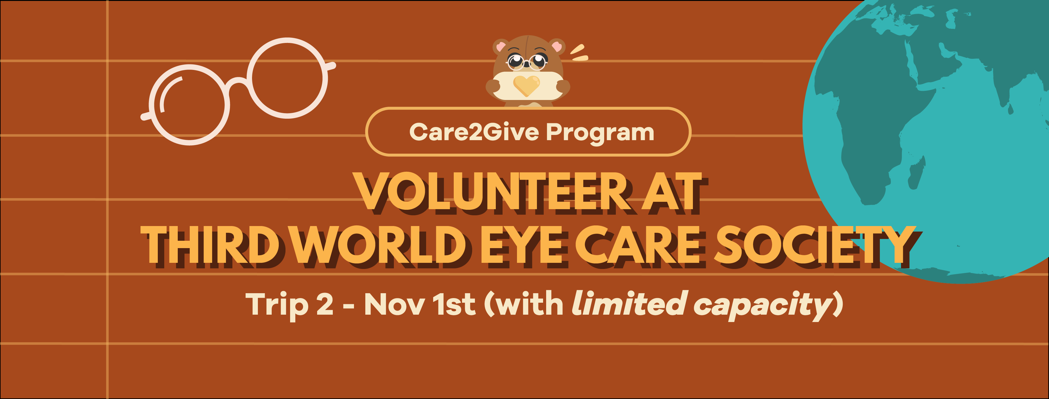 Care2Give @ TWECS: Volunteer with CCP! (Session 2)